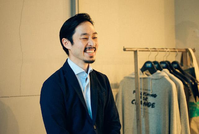 ZEBRAS & CO. 共同創業者 / 代表取締役 陶山祐司さん。
