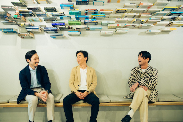 ZEBRAS & CO. 共同創業者 / 代表取締役の3人。