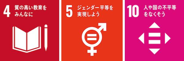 SDGs4,5,10