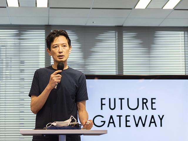 KDDI research atelierのセンター長の木村寛明さん