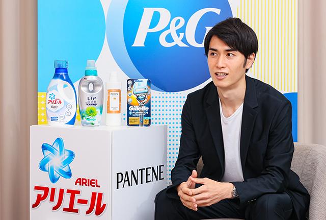 P&Gが目指す「平等な世界」への施策を語る秋山さん。