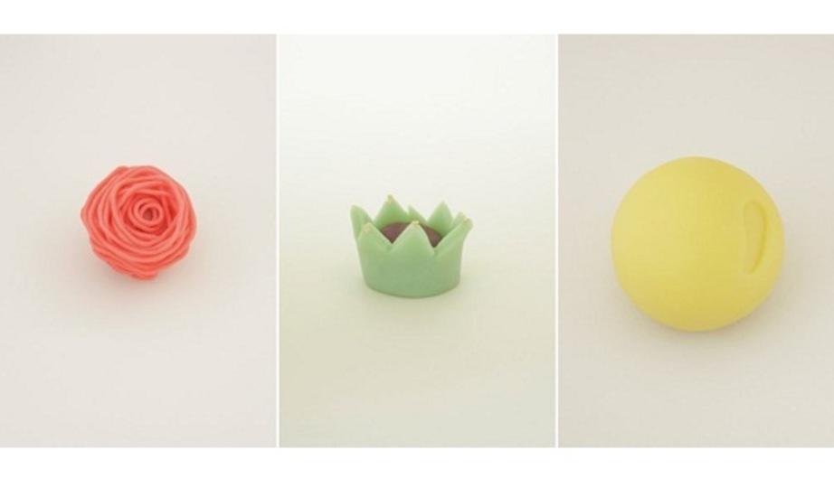 伝統の手法を現代の感性で。話題の和菓子創作ユニット「日菓」の作品集
