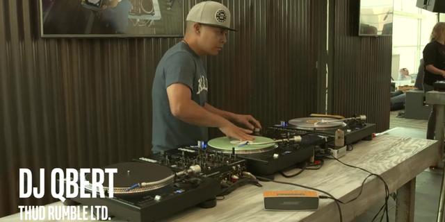 スクラッチDJの頂点、DJ Qbertが認めたPC内蔵DJミキサー