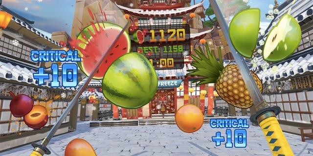 めった斬りが爽快なゲーム『Fruit Ninja』VR版は未来のエクササイズ