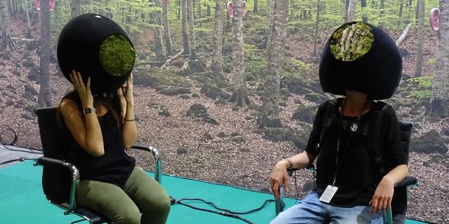 【Sonar 2016】VRで体験する動物たちの世界は人の想像の常識を超越する