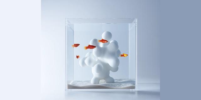 水と魚の新しい関係を提案する美しき水槽アート