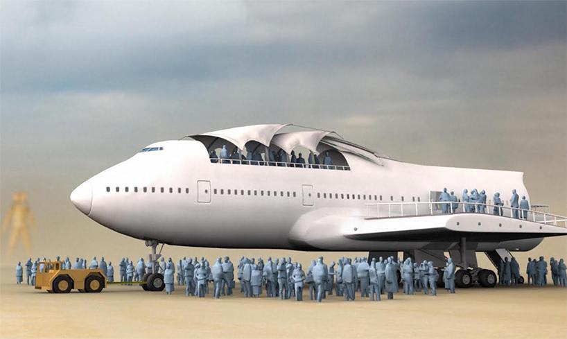 ボーイング747をBurning Manのアートにする一大プロジェクト02