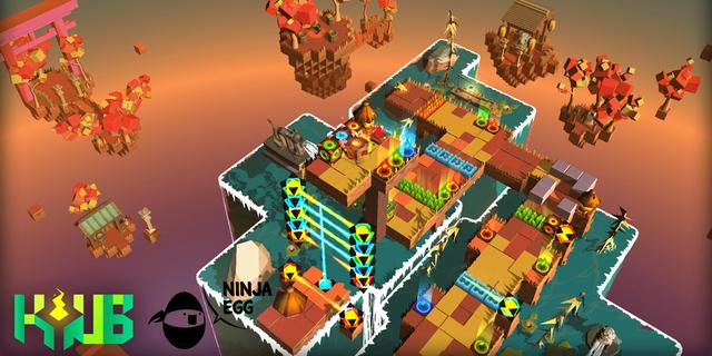 オープンイノベーション時代が生み出したパズルゲーム『Kyub』はキュートで厄介だ