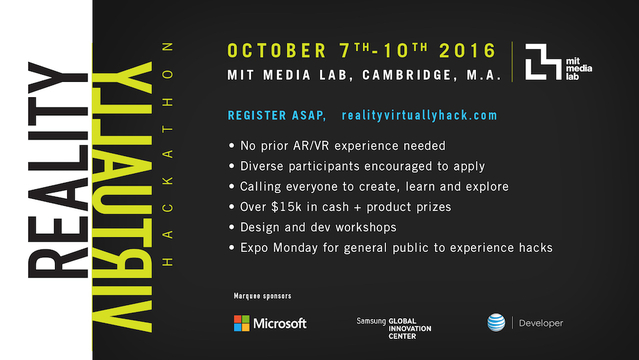 VRハッカソン「Reality, Virtually,」:MITメディアラボと学生が考えるVRの未来