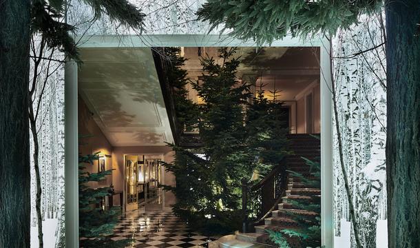 ジョニー・アイブとマーク・ニューソンが作った、クリスマスツリーの余白