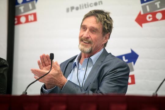 ジョン・マカフィー。大統領選挙からビットコイン・マイニングへ、波乱の人生は続く