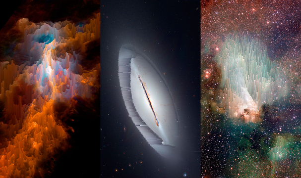 インターネットアートは「壁に飾る」。Electric ObjectsはGIFと宇宙をアートと認めた