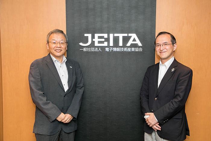 JEITAの千村氏と小倉氏