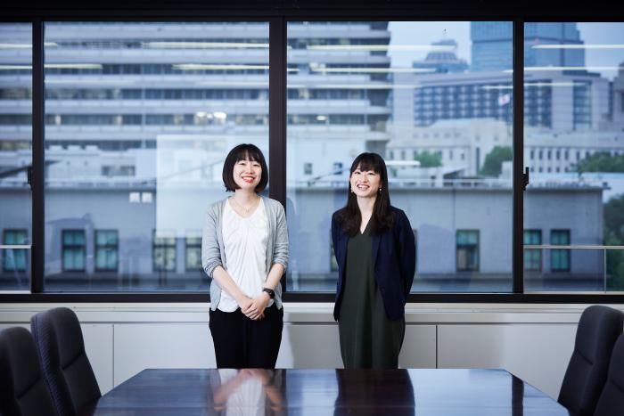 経済産業省 坂本弘美氏と戸田悠子氏