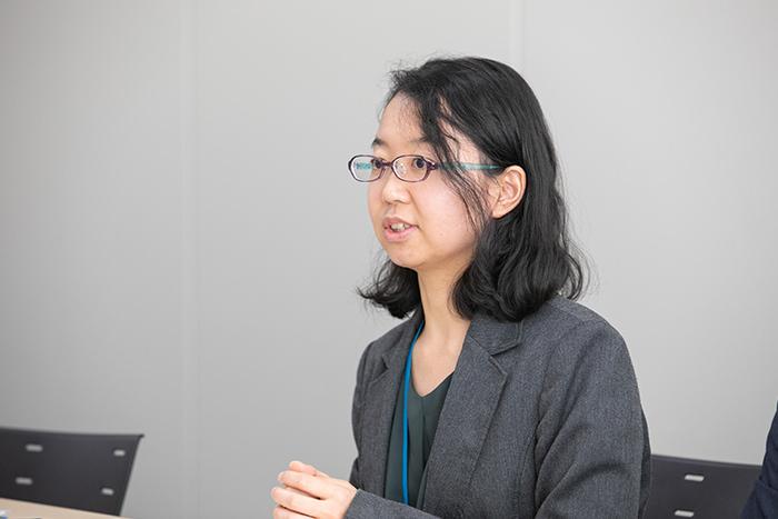 稲垣晴香・農林水産技術会議事務局研究推進課 課長補佐