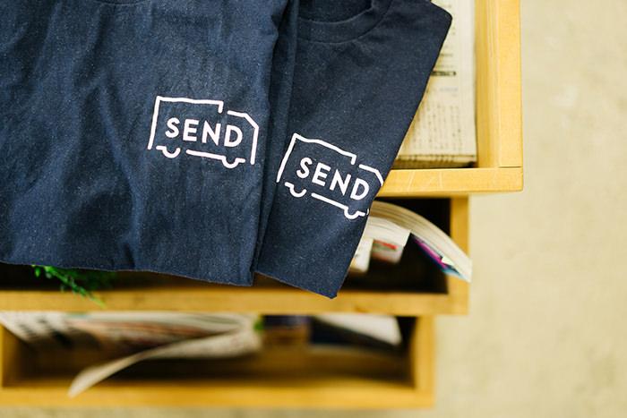 SENDのイメージTシャツ