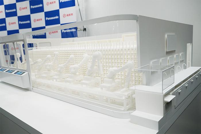 海底撈 自動化店舗1号店の模型