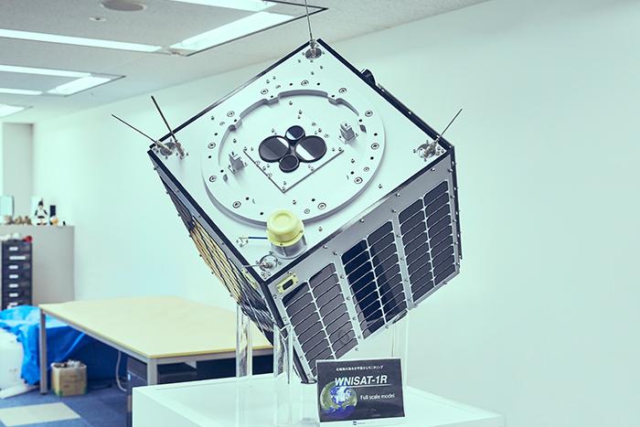 「WNISAT-1R」のイメージ