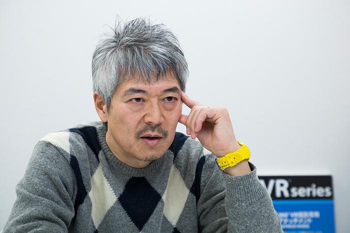 インタビューに応える田路圭輔氏