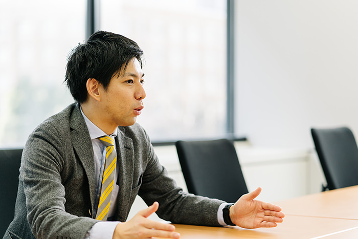 経済産業省商務・サービスグループ物流企画室の三藤慧介室長補佐