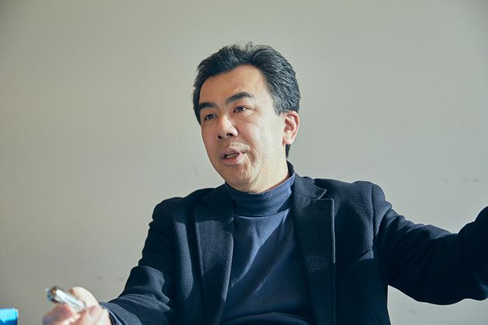 東京大学大学院情報学環副学環長 越塚登教授