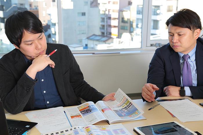 雪元さん、小平田さんが語る様子
