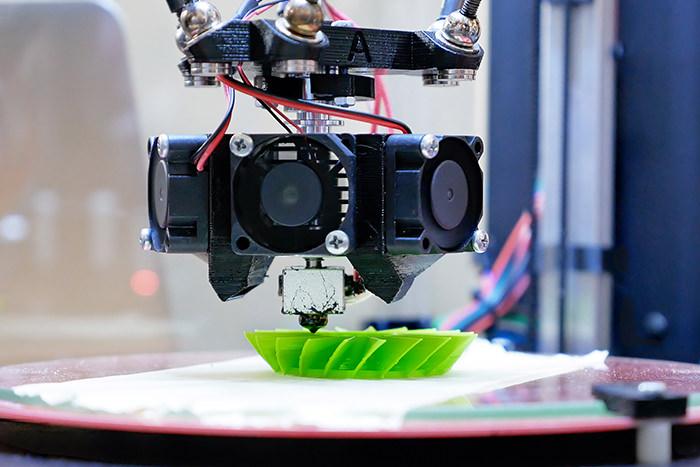 3Dプリンティングのイメージ