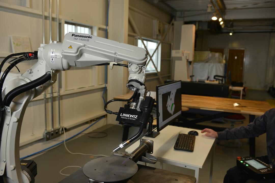 「L-QUALIFY」の検証用ロボット