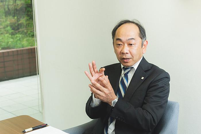 サッポロホールディングスロジスティクス部部長 松崎栄治氏