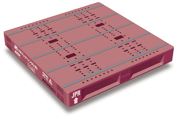 JPRの「T11型プレスチック製レンタルパレット」