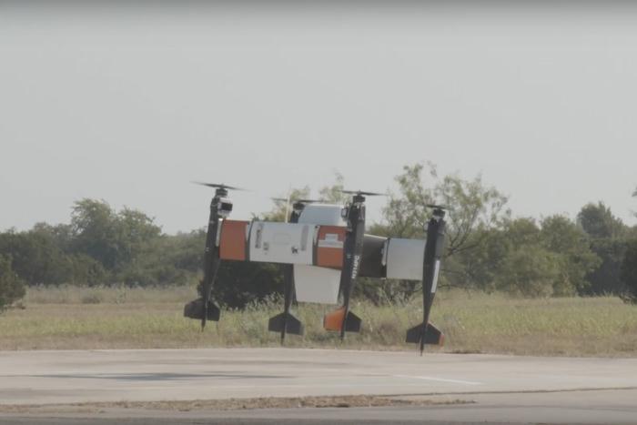 2019年8月にベル社と共同で行われた飛行実験でのAPT70