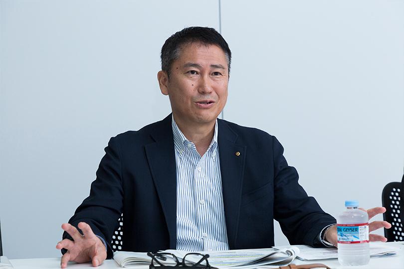 日本通運株式会社 営業開発部(食品・飲料)部長 髙市将氏