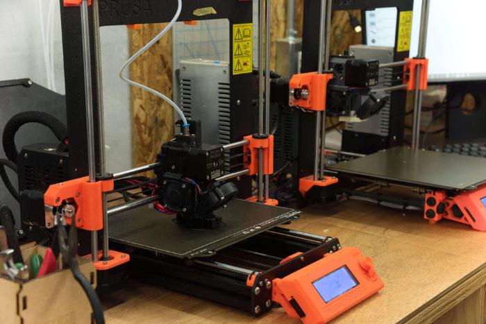 「Kyoto Makers Garage」に設置されている3Dプリンタ