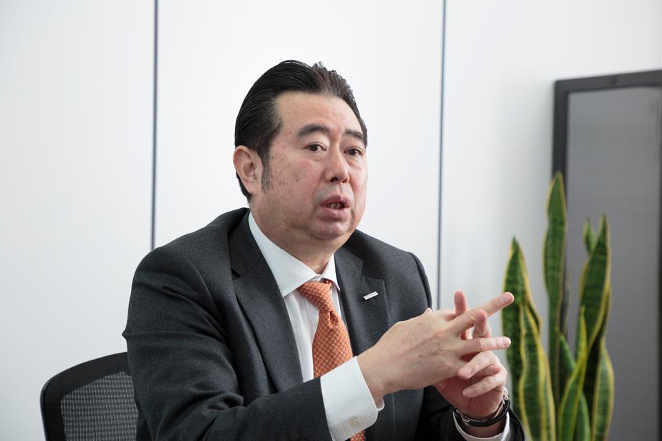 日進工具株式会社 代表取締役社長 後藤弘治氏
