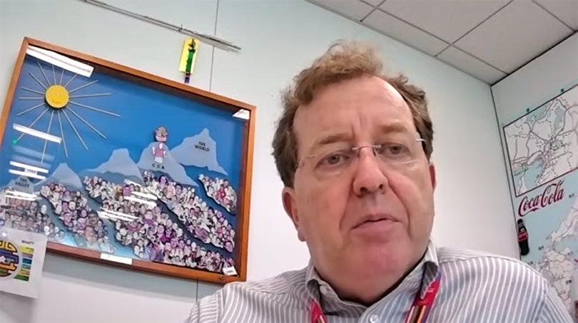 コカ・コーラ ボトラーズジャパン株式会社 ブルース・ハーバート執行役員・SCM本部長