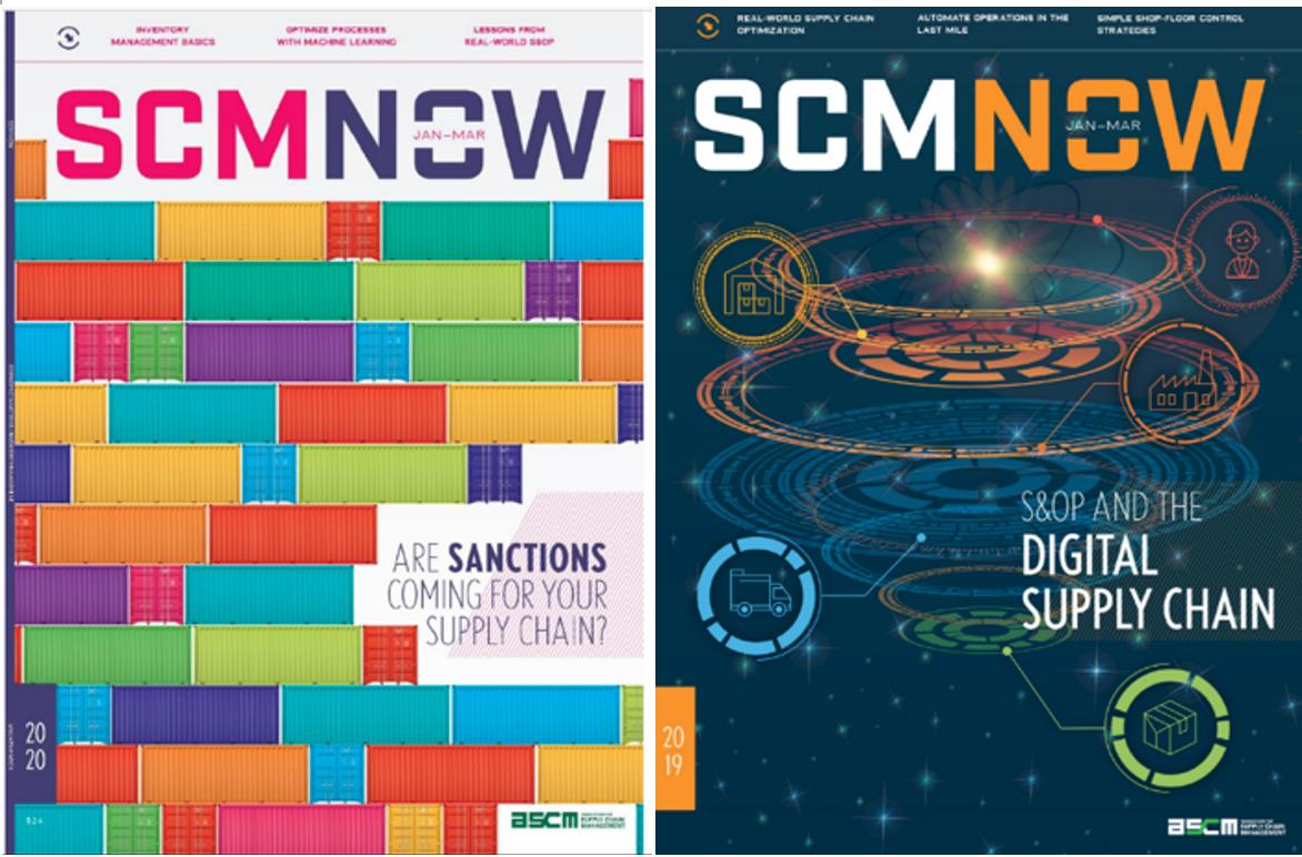 上述している事例などは、ASCMの定期刊行物「SCM NOW」でも掲載されている(出所:https://www.ascm.org/scm-now/)