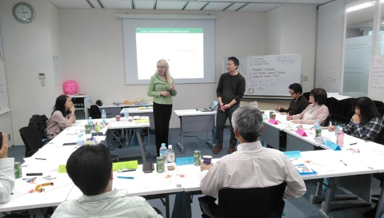 東南アジアからの参加者もまじえ東京で開催されたAPICSのトレーニング風景(提供:APICS JAPAN)