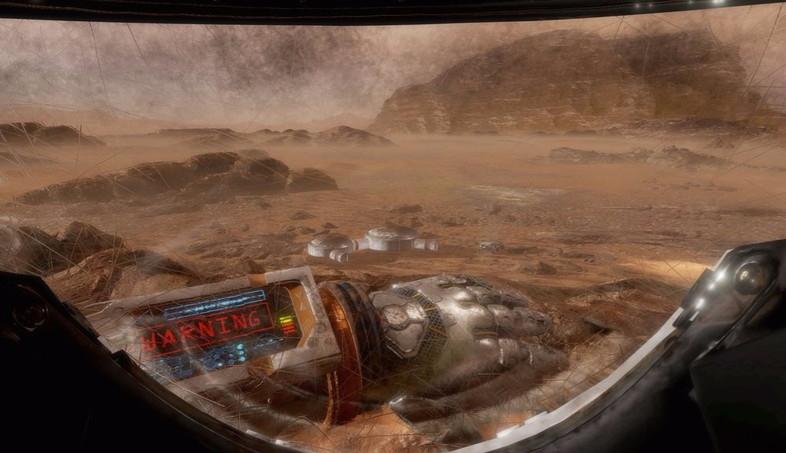 映画『オデッセイ』のVRコンテンツで火星での孤独を味わおう