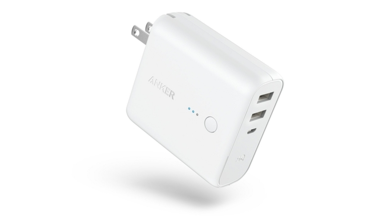 Anker、されど白。人気の充電プラグ+モバイルバッテリーの2in1充電器に「白」登場。