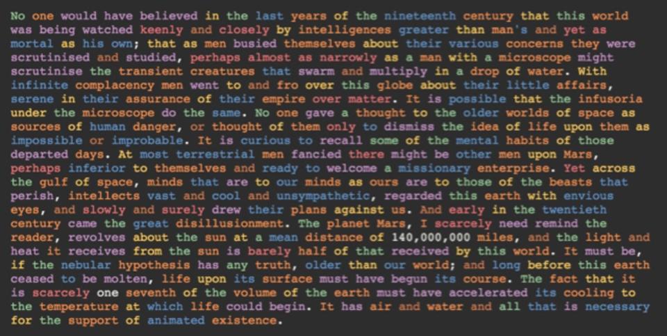 大学受験思い出してみよっか。打ち込んだ英文の品詞を色分けしてくれるウェブサイト