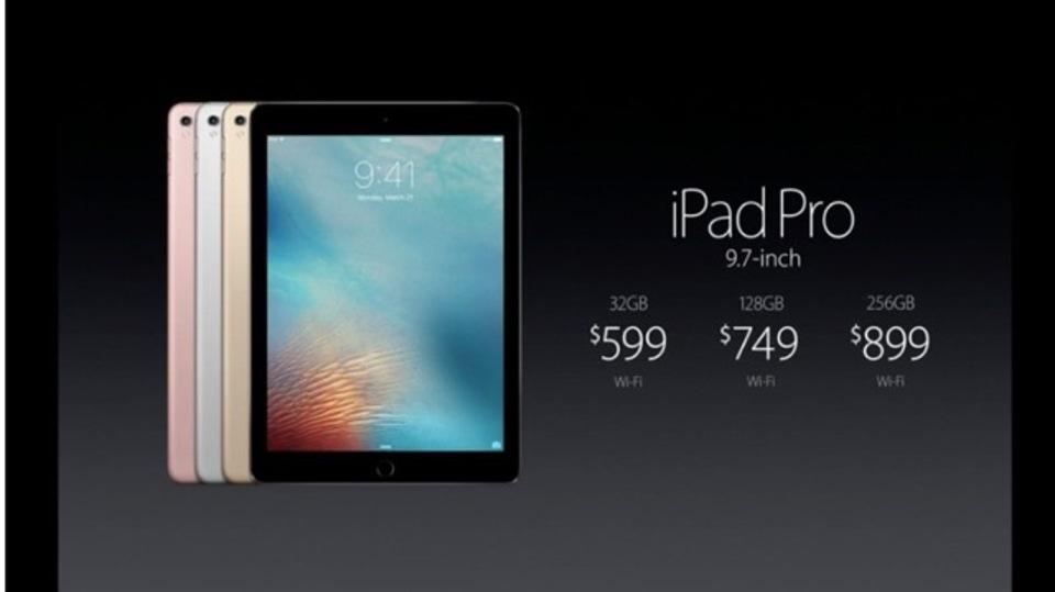 iPad Proに9.7インチの弟分が登場しました