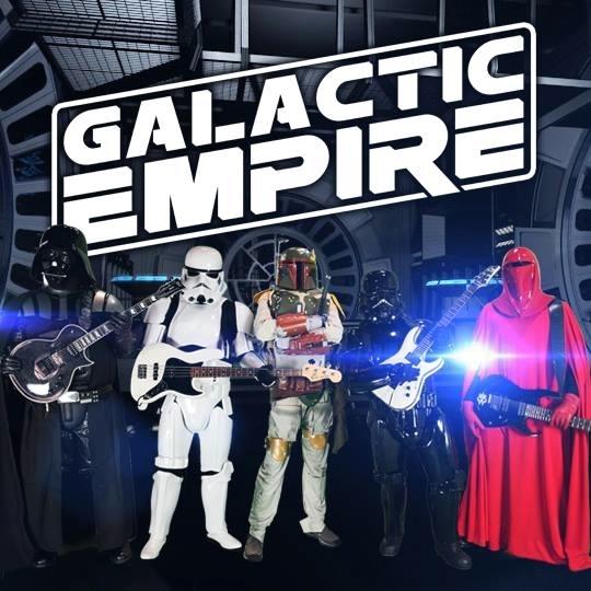 スター・ウォーズ・メタルバンド「銀河帝国」がアルバム制作とツアーに向けて資金を募集中
