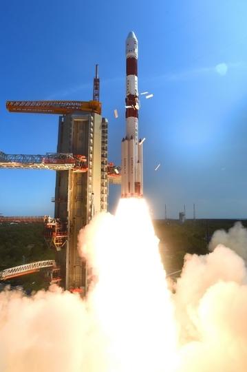 インドから同時に20個の人工衛星が打ち上がる