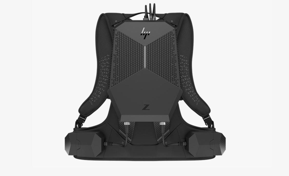 「ポータブルでVRやるならデスクトップPC背負うしか…」HPがビジネス用途のVR用バックパックPC「HP Z VR」を発表!
