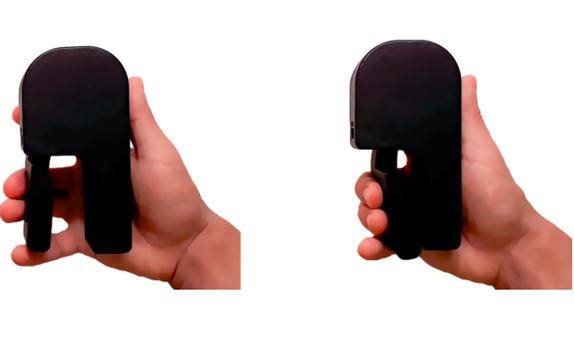 スマホの充電が切れた時の最終手段。握力つけながら人力で充電できるモバイルバッテリー