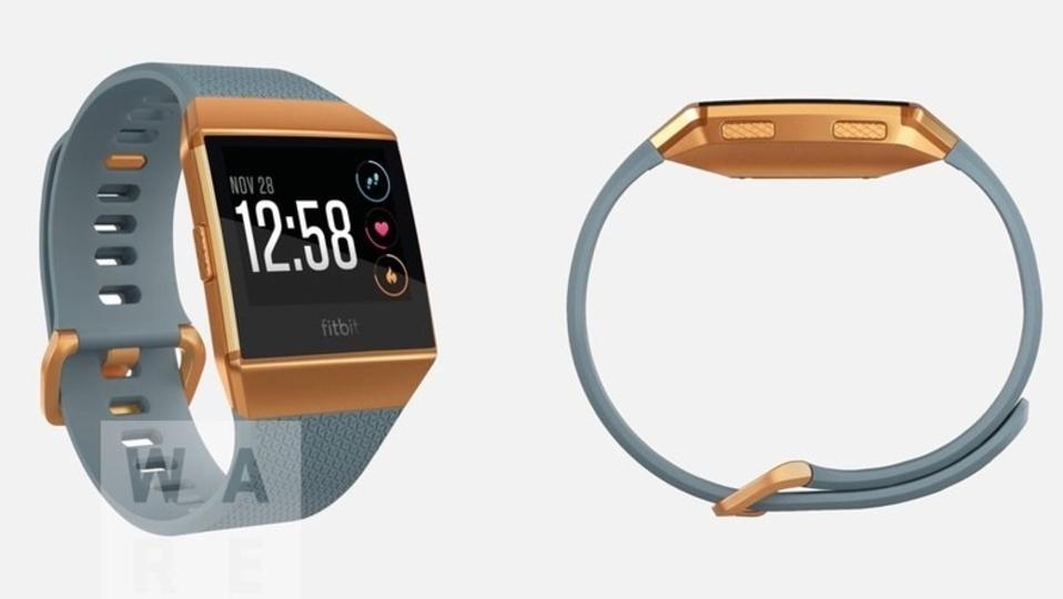 Fitbit初のスマートウォッチの筐体がリーク! 血中酸素濃度も測れるかもよ?