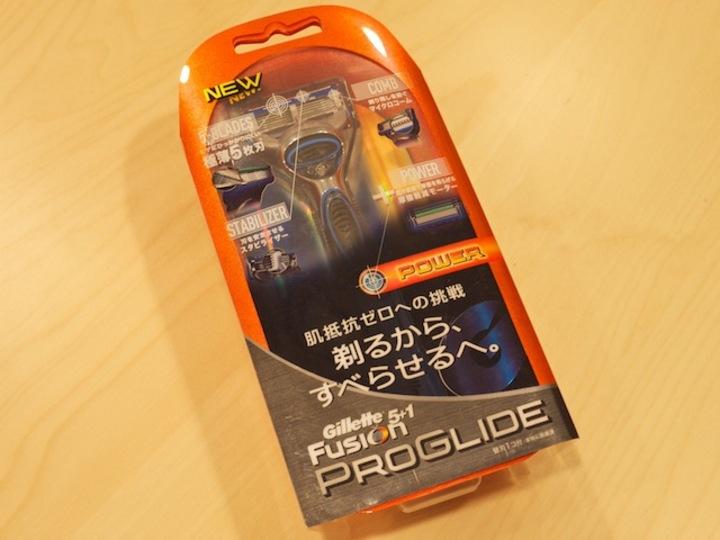 蝶野も愛用! Gilletteの新製品「PROGLIDE」で滑らかに髭を剃ってみた