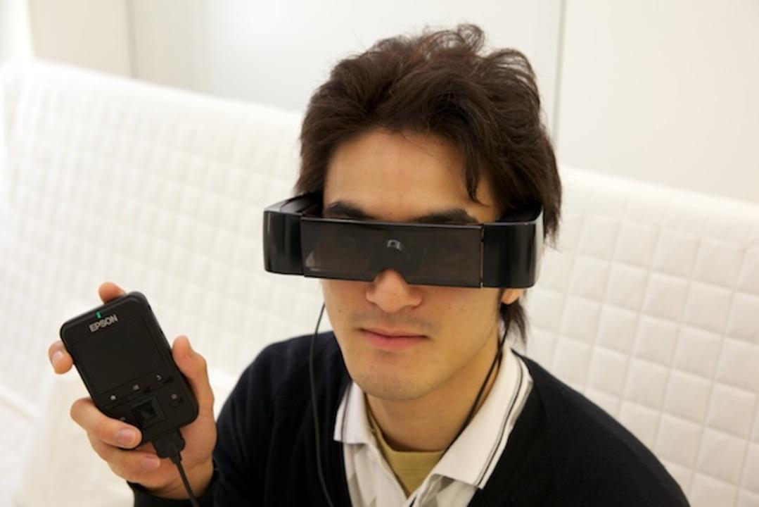 これぞ現代版スカウター! エプソンの「MOVERIO」で未来を感じよう!