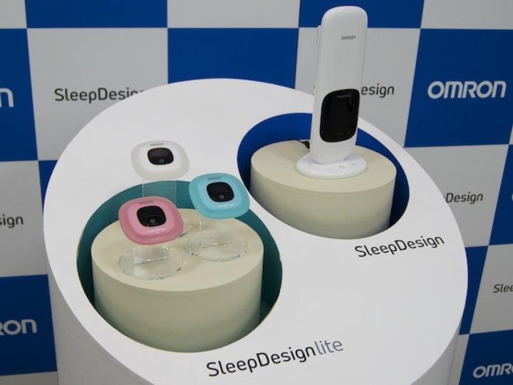 毎日何時間寝てる? オムロンからかんたん置くだけの睡眠計が発売されます
