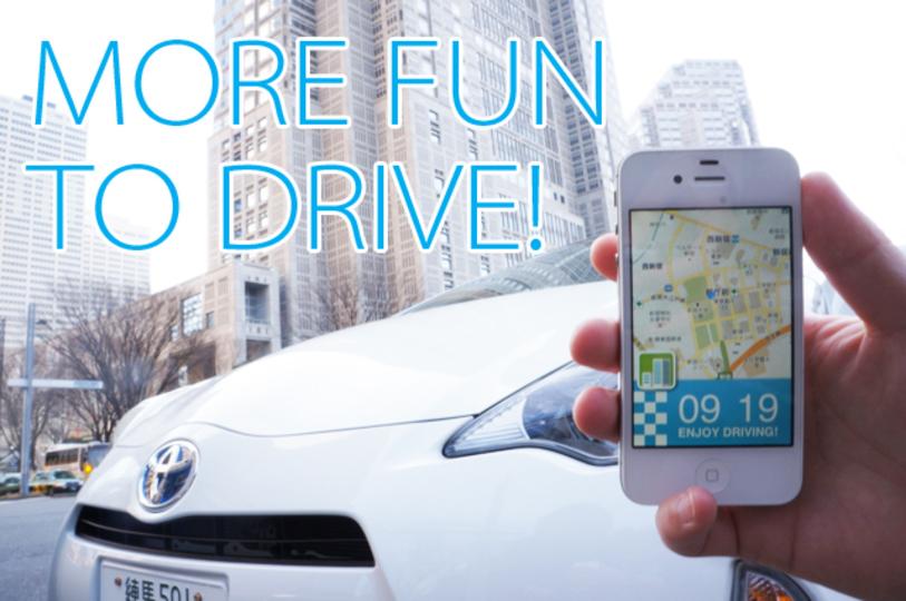 東京マラソンのコースをアプリ 「AQUA SOCIAL DRIVE」と一緒にまわってみた